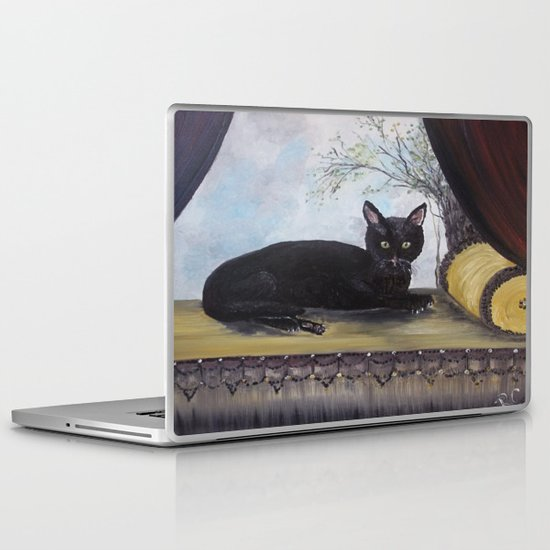 Pepper Cat Laptop & iPad Skin
