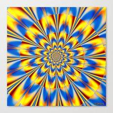 Flashing Star Canvas Print