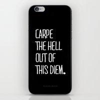 Carpe Diem ///www.pencil… iPhone & iPod Skin
