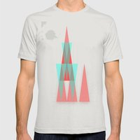 tiefental1 Mens Fitted Tee Silver SMALL