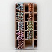 Coloured pencils iPhone & iPod Skin