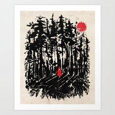 Long Way Home Art Print