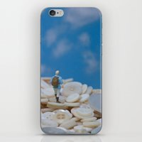 The Great Button Hike iPhone & iPod Skin