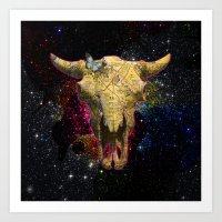 Death Valley Buffalo Art Print