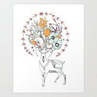 like a halo around your head Art Print