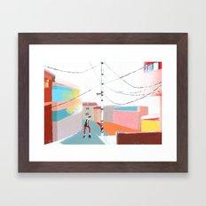 Dancing in the Street Framed Art Print