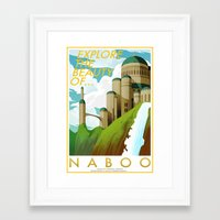 Explore the Beauty of Naboo Framed Art Print