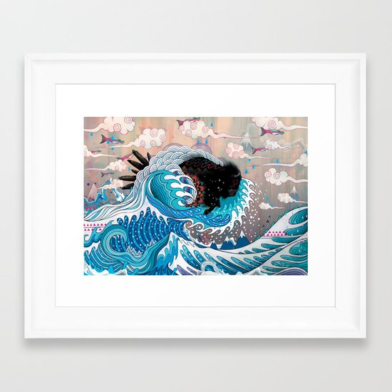The Unstoppabull Force Framed Art Print