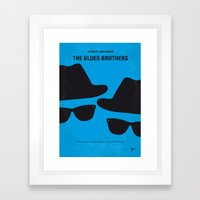 No012 My Blues Brothers … Framed Art Print