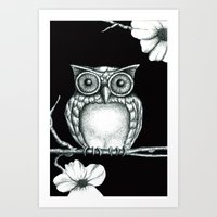 Fictional Owl Art Print