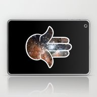 Hamsa Milky Way Laptop & iPad Skin