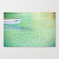 The Lagido Boat Canvas Print
