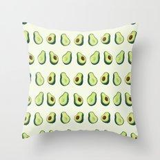 Avacado Pattern 2  Throw Pillow