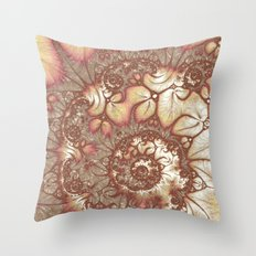 Rusted Infinity Throw Pillow