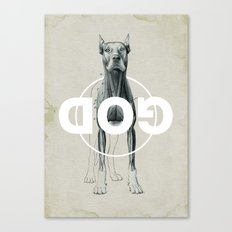 Dog God Canvas Print