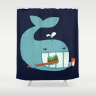 Brush Your Teeth Shower Curtain