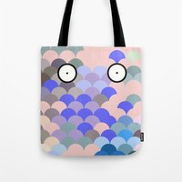 Fish Eyes Tote Bag