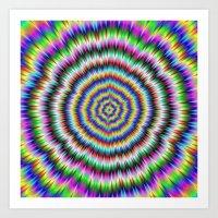 Eye Boggling Psychedelic Art Print