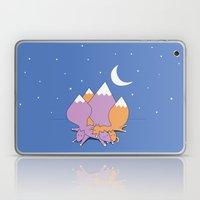 Let sleeping foxes lie Laptop & iPad Skin