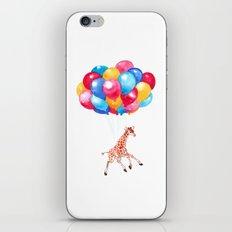 Baby Giraffe can Fly iPhone & iPod Skin