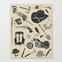 Artifacts: Walking Dead Canvas Print