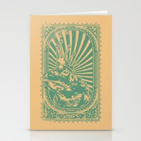 Frog king Stationery Cards