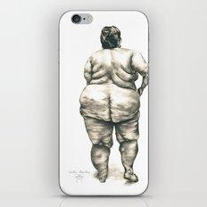 mujer en la ducha iPhone & iPod Skin