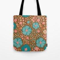Town Square Floral Tote Bag