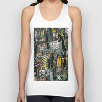 Dirty dishes Unisex Tank Top