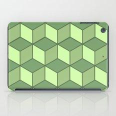 Lime cubes iPad Case