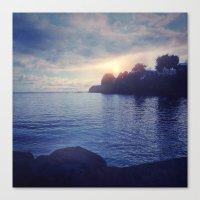Sunset I C. II Canvas Print