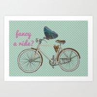 Fancy a Ride? Art Print