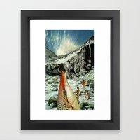 Splurge Framed Art Print