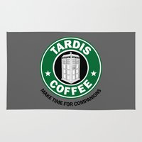 Tardis Coffee Rug