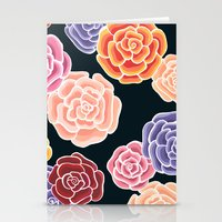 rosy days Stationery Cards