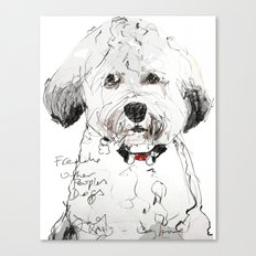 OPD Freddie Canvas Print