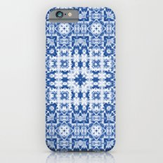 Aquatica Denim Blues Kaleid2 iPhone 6 Slim Case