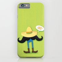 iPhone & iPod Case featuring Mexstache by Jaina Hill-Rodriguez