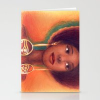 Ra Eyes - Queen Stationery Cards