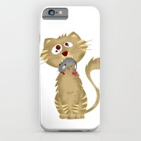 iPhone & iPod Case featuring Cat Gift by  MaiCat