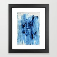 Hit and run Framed Art Print