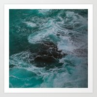 Big Sur Waves Art Print