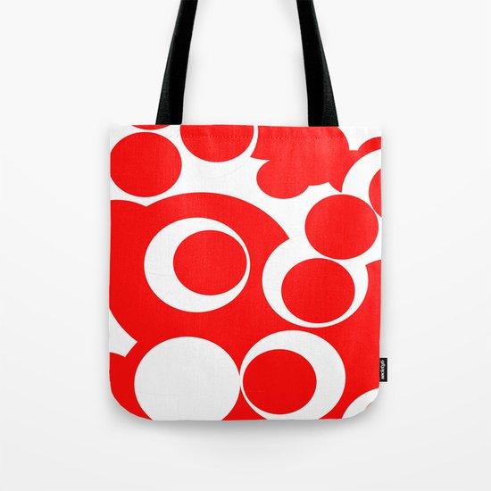 red circles Tote Bag