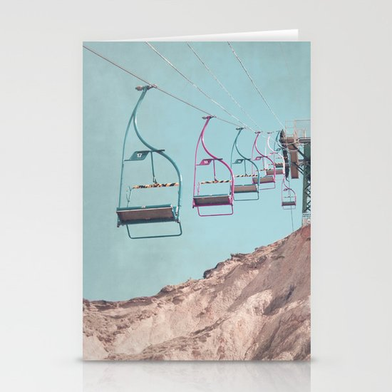into the sky... Stationery Card