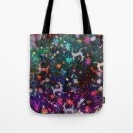 Watercolour Folk Otomi I… Tote Bag