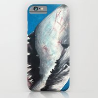 iPhone & iPod Case featuring Shark by Kristin Frenzel