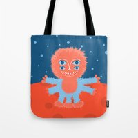 Focussian Furry Alien Tote Bag