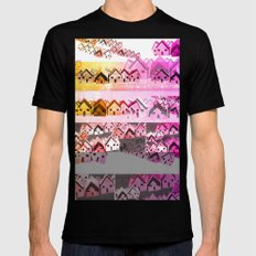 Colour Village Mens Fitted Tee Black SMALL