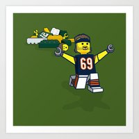 Bears Bricked: Jared All… Art Print