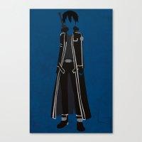 Kirito Canvas Print